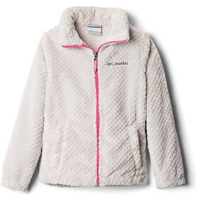 Columbia Fire Side Sherpa Full Zip Jacket Girls silver grey